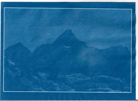 Cyanotypie_Alpen